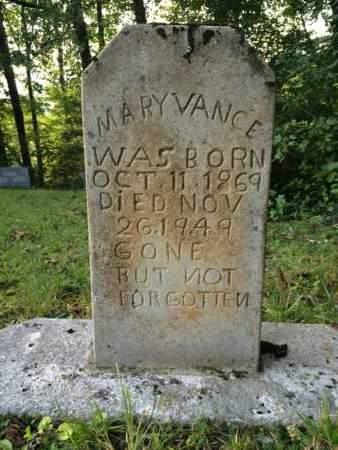 VANCE, MARY - Bell County, Kentucky | MARY VANCE - Kentucky Gravestone Photos