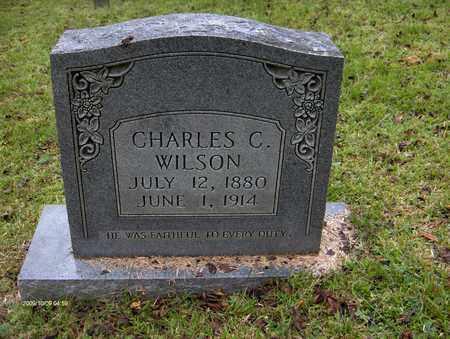 WILSON, CHARLES C - Bell County, Kentucky | CHARLES C WILSON - Kentucky Gravestone Photos