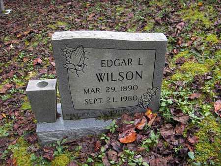 WILSON, EDGAR L - Bell County, Kentucky | EDGAR L WILSON - Kentucky Gravestone Photos