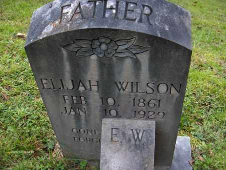 WILSON, ELIJAH - Bell County, Kentucky   ELIJAH WILSON - Kentucky Gravestone Photos
