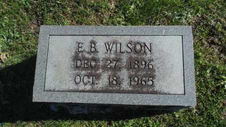 WILSON, E.B. - Bell County, Kentucky | E.B. WILSON - Kentucky Gravestone Photos