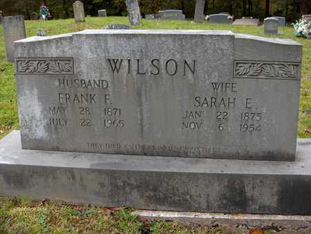 WILSON, FRANK F - Bell County, Kentucky   FRANK F WILSON - Kentucky Gravestone Photos