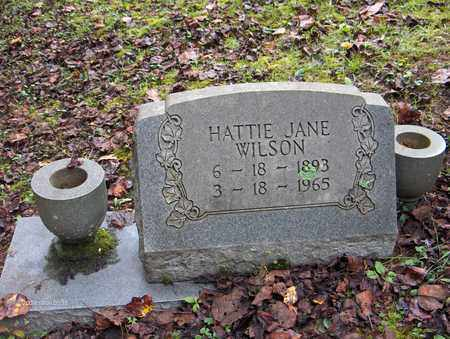 WILSON, HATTIE JANE - Bell County, Kentucky | HATTIE JANE WILSON - Kentucky Gravestone Photos