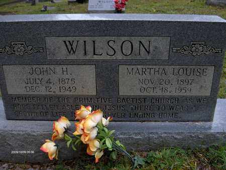WILSON, MARTHA LOUISE - Bell County, Kentucky | MARTHA LOUISE WILSON - Kentucky Gravestone Photos