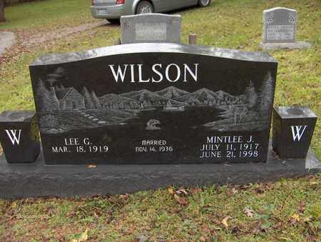 WILSON, MINTLEE J - Bell County, Kentucky | MINTLEE J WILSON - Kentucky Gravestone Photos