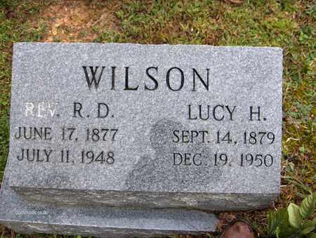 WILSON, LUCY H - Bell County, Kentucky | LUCY H WILSON - Kentucky Gravestone Photos