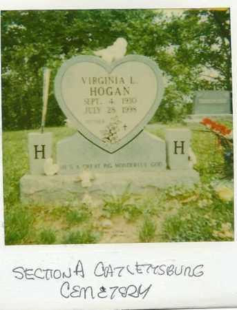 HOGAN, VIRGINIA LUCILLE - Boyd County, Kentucky | VIRGINIA LUCILLE HOGAN - Kentucky Gravestone Photos