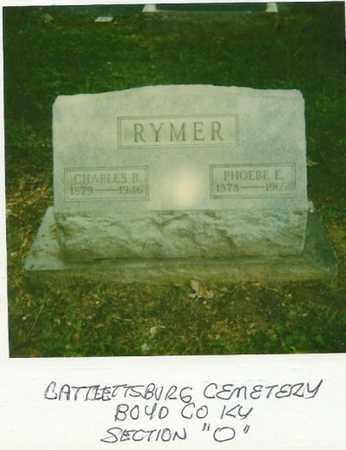 RYMER, CHARLES BENJAMIN (C. B.) - Boyd County, Kentucky | CHARLES BENJAMIN (C. B.) RYMER - Kentucky Gravestone Photos