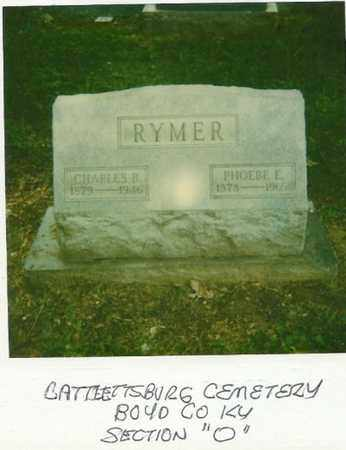 RYMER, PHOEBE - Boyd County, Kentucky | PHOEBE RYMER - Kentucky Gravestone Photos