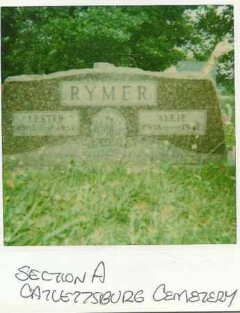 RYMER, ALLIE - Boyd County, Kentucky   ALLIE RYMER - Kentucky Gravestone Photos