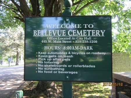 **, CEMETERY SIGN - Boyle County, Kentucky | CEMETERY SIGN ** - Kentucky Gravestone Photos