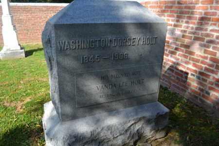 HOLT, WASHINGTON - Breckinridge County, Kentucky | WASHINGTON HOLT - Kentucky Gravestone Photos