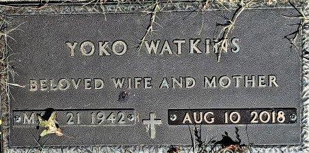 MORINAGA WATKINS, YOKO - Bullitt County, Kentucky | YOKO MORINAGA WATKINS - Kentucky Gravestone Photos