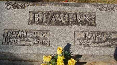 BEAVERS, CHARLES W - Caldwell County, Kentucky | CHARLES W BEAVERS - Kentucky Gravestone Photos