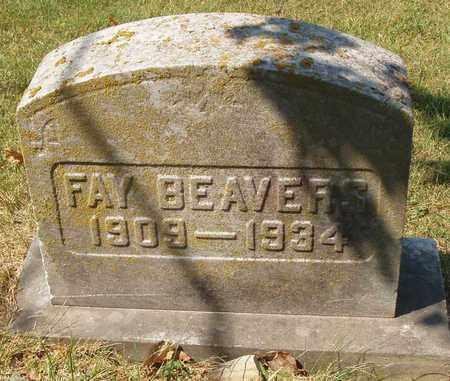 BEAVERS, FAY - Caldwell County, Kentucky | FAY BEAVERS - Kentucky Gravestone Photos