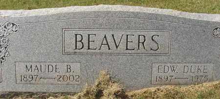 BEAVERS, MAUDE - Caldwell County, Kentucky   MAUDE BEAVERS - Kentucky Gravestone Photos