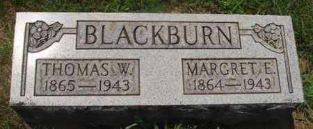 BLACKBURN, THOMAS W - Caldwell County, Kentucky   THOMAS W BLACKBURN - Kentucky Gravestone Photos