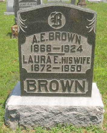 BROWN, LAURA E - Caldwell County, Kentucky | LAURA E BROWN - Kentucky Gravestone Photos