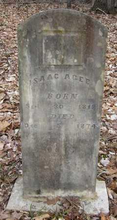 AGEE, ISAAC - Clinton County, Kentucky | ISAAC AGEE - Kentucky Gravestone Photos