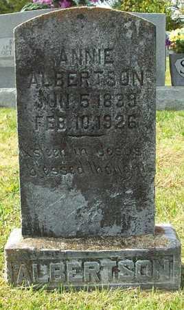 ALBERTSON, ANNIE - Clinton County, Kentucky | ANNIE ALBERTSON - Kentucky Gravestone Photos