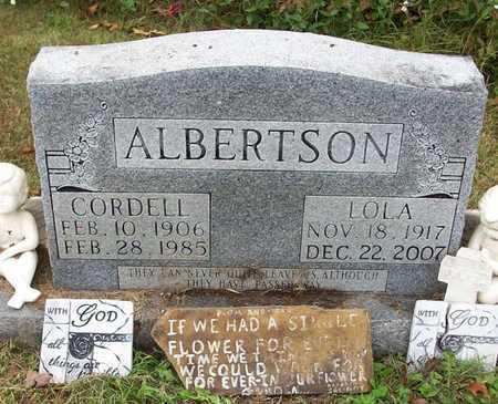 ALBERTSON, CORDELL - Clinton County, Kentucky   CORDELL ALBERTSON - Kentucky Gravestone Photos