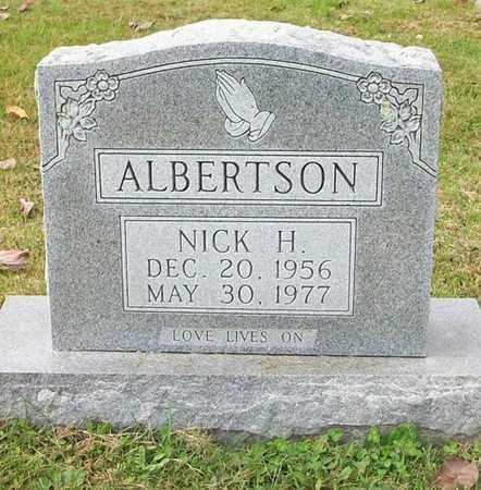 ALBERTSON, NICHOLAS HENRY - Clinton County, Kentucky | NICHOLAS HENRY ALBERTSON - Kentucky Gravestone Photos