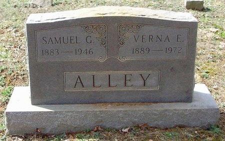 ALLEY, SAMUEL GREEN - Clinton County, Kentucky   SAMUEL GREEN ALLEY - Kentucky Gravestone Photos