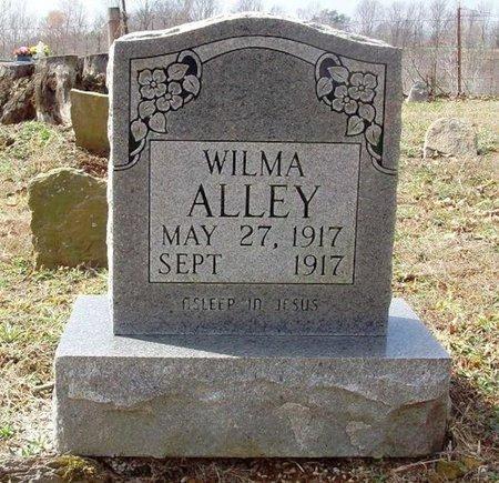 ALLEY, WILMA - Clinton County, Kentucky | WILMA ALLEY - Kentucky Gravestone Photos