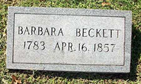 BECKETT, BARBARA - Clinton County, Kentucky | BARBARA BECKETT - Kentucky Gravestone Photos