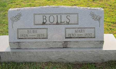 BOILS, BURR - Clinton County, Kentucky | BURR BOILS - Kentucky Gravestone Photos