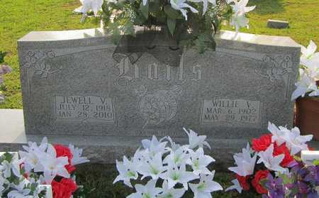 BOILS, WILLIE V - Clinton County, Kentucky | WILLIE V BOILS - Kentucky Gravestone Photos