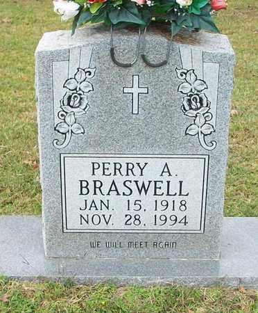 BRASWELL, PERRY A - Clinton County, Kentucky | PERRY A BRASWELL - Kentucky Gravestone Photos