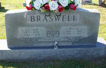 MADISON BRASWELL, ROXIE ETHEL - Clinton County, Kentucky   ROXIE ETHEL MADISON BRASWELL - Kentucky Gravestone Photos