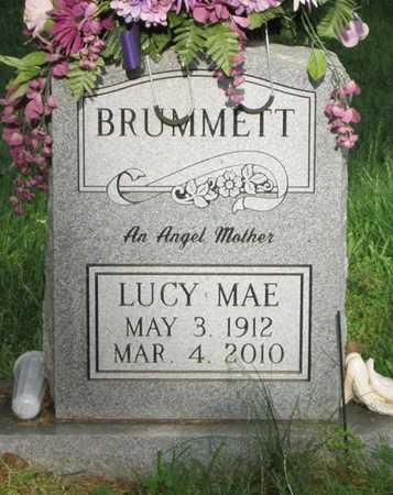 BRUMMETT, LUCY MAE - Clinton County, Kentucky | LUCY MAE BRUMMETT - Kentucky Gravestone Photos