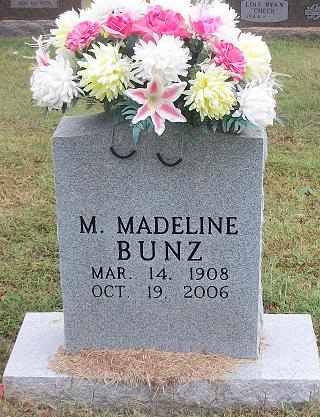 BUNZ, MATILDA MADELINE - Clinton County, Kentucky | MATILDA MADELINE BUNZ - Kentucky Gravestone Photos