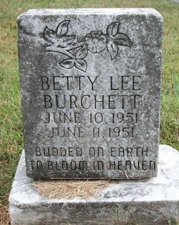 BURCHETT, BETTY LEE - Clinton County, Kentucky | BETTY LEE BURCHETT - Kentucky Gravestone Photos