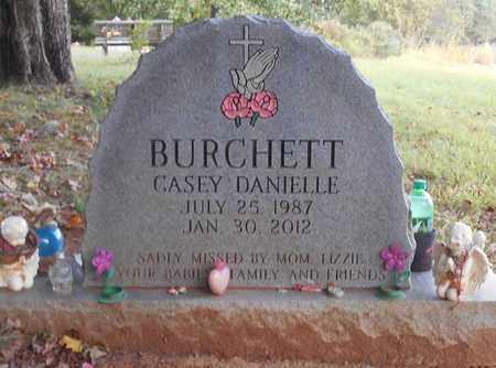 DANIELLE BURCHETT, CASEY - Clinton County, Kentucky | CASEY DANIELLE BURCHETT - Kentucky Gravestone Photos