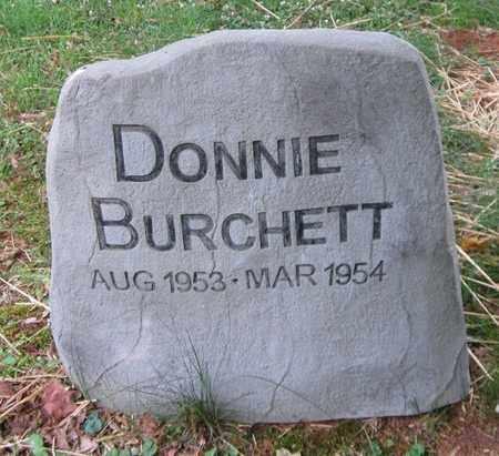 BURCHETT, DONNIE - Clinton County, Kentucky | DONNIE BURCHETT - Kentucky Gravestone Photos