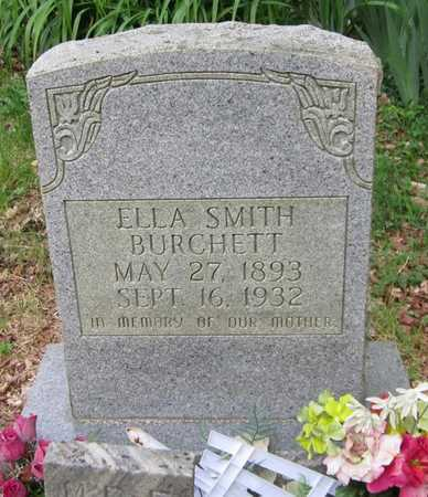 BURCHETT, ELLA - Clinton County, Kentucky | ELLA BURCHETT - Kentucky Gravestone Photos
