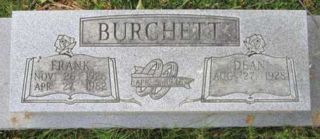 BURCHETT, FRANK - Clinton County, Kentucky | FRANK BURCHETT - Kentucky Gravestone Photos