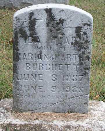 BURCHETT, IDA PEARL - Clinton County, Kentucky | IDA PEARL BURCHETT - Kentucky Gravestone Photos