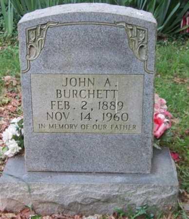 BURCHETT, JOHN A - Clinton County, Kentucky | JOHN A BURCHETT - Kentucky Gravestone Photos