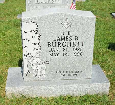 BURCHETT, JAMES B (J B) - Clinton County, Kentucky | JAMES B (J B) BURCHETT - Kentucky Gravestone Photos