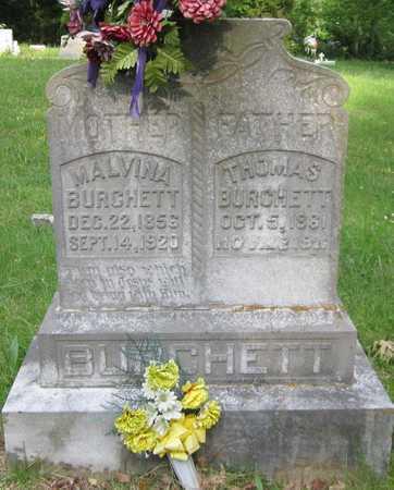 BURCHETT, MALVINA - Clinton County, Kentucky | MALVINA BURCHETT - Kentucky Gravestone Photos