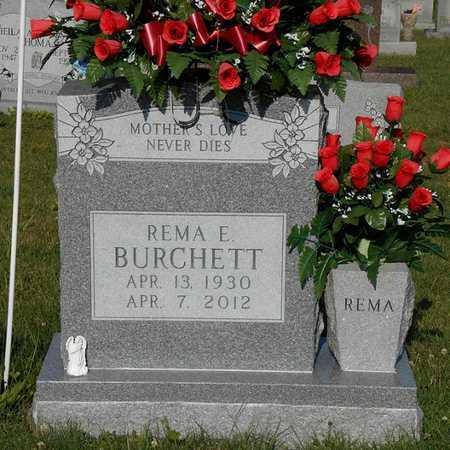 BURCHETT, REMA E - Clinton County, Kentucky | REMA E BURCHETT - Kentucky Gravestone Photos