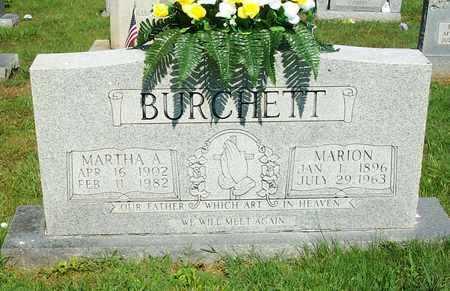 BURCHETT, MARION - Clinton County, Kentucky | MARION BURCHETT - Kentucky Gravestone Photos