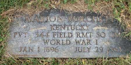 BURCHETT (VETERAN WWI), MARION - Clinton County, Kentucky | MARION BURCHETT (VETERAN WWI) - Kentucky Gravestone Photos