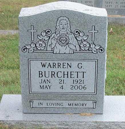 BURCHETT, WARREN G - Clinton County, Kentucky   WARREN G BURCHETT - Kentucky Gravestone Photos