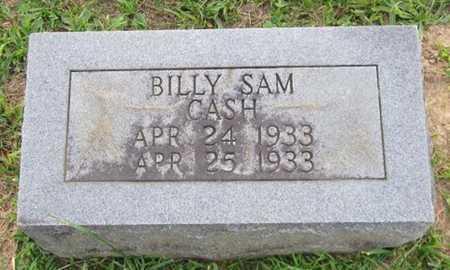 CASH, BILLY SAM - Clinton County, Kentucky | BILLY SAM CASH - Kentucky Gravestone Photos