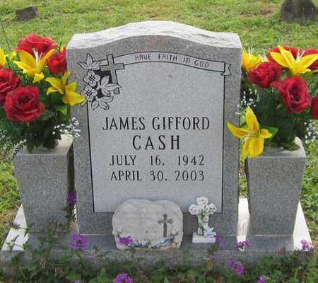CASH, JAMES GIFFORD - Clinton County, Kentucky | JAMES GIFFORD CASH - Kentucky Gravestone Photos